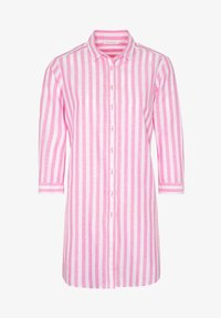 Eterna - MODERN CLASSIC - Button-down blouse - pink/weiss - 3