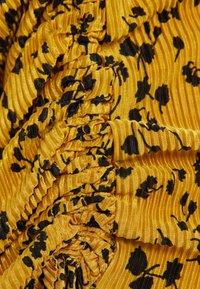 Bershka - Robe d'été - mustard yellow - 5