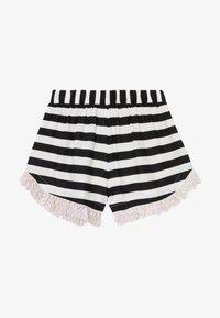 WAUW CAPOW by Bangbang Copenhagen - AUGUSTA STRIPED - Shorts - black/white - 2