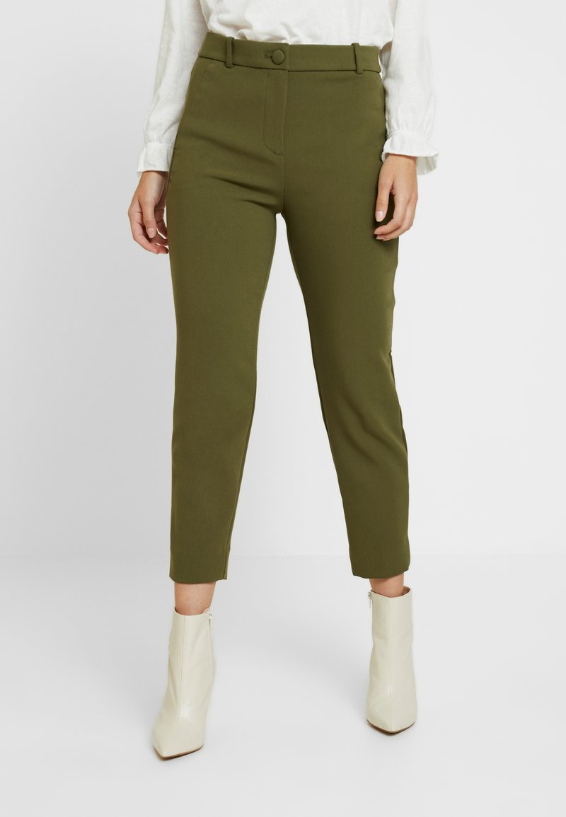 J.CREW PETITE - CAMERON SEASONLESS - Trousers - frosty olive