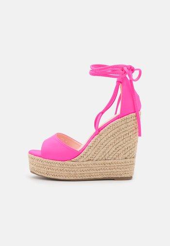 MAREA - Sandaler med høye hæler - pink