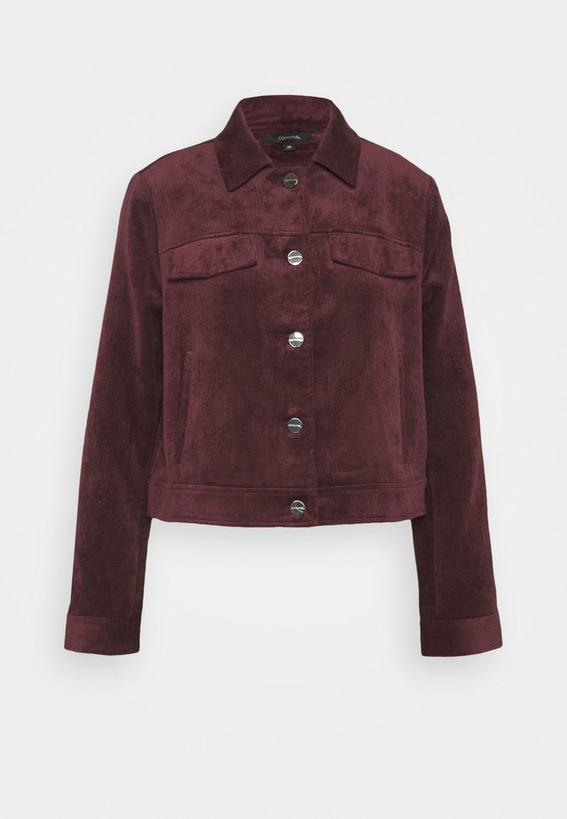 Bomber Jacket - plum