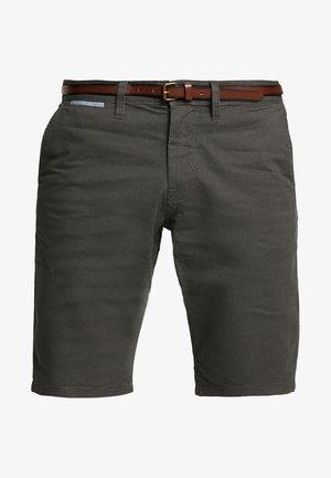 ESSENTIAL - Shorts - grey houndstooth design
