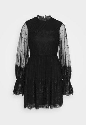 FRILL DRESS - Cocktail dress / Party dress - black