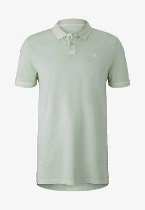 Polo shirt - smooth green