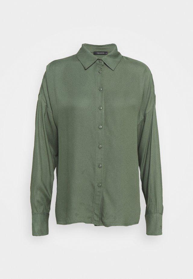 HAKI - Button-down blouse - khaki