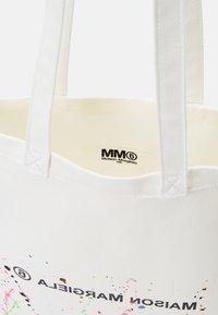MM6 Maison Margiela - BERLIN BAG SMALL - Tote bag - white - 7