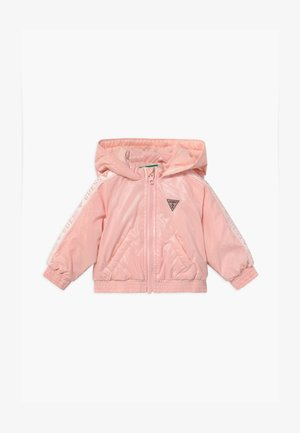 HOODED ZIPPER BABY - Chaqueta de invierno - pink sky