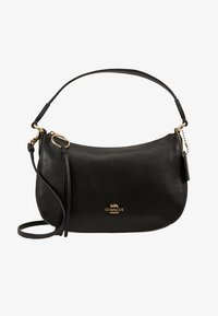 Coach - PEBBLE SUTTON CROSSBODY - Torebka - black - 6