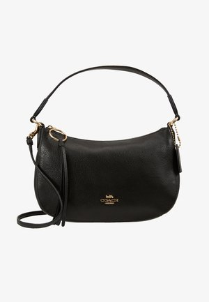 PEBBLE SUTTON CROSSBODY - Handtasche - black