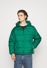 adidas Originals - HOODED PUFF - Veste d'hiver - green - 2