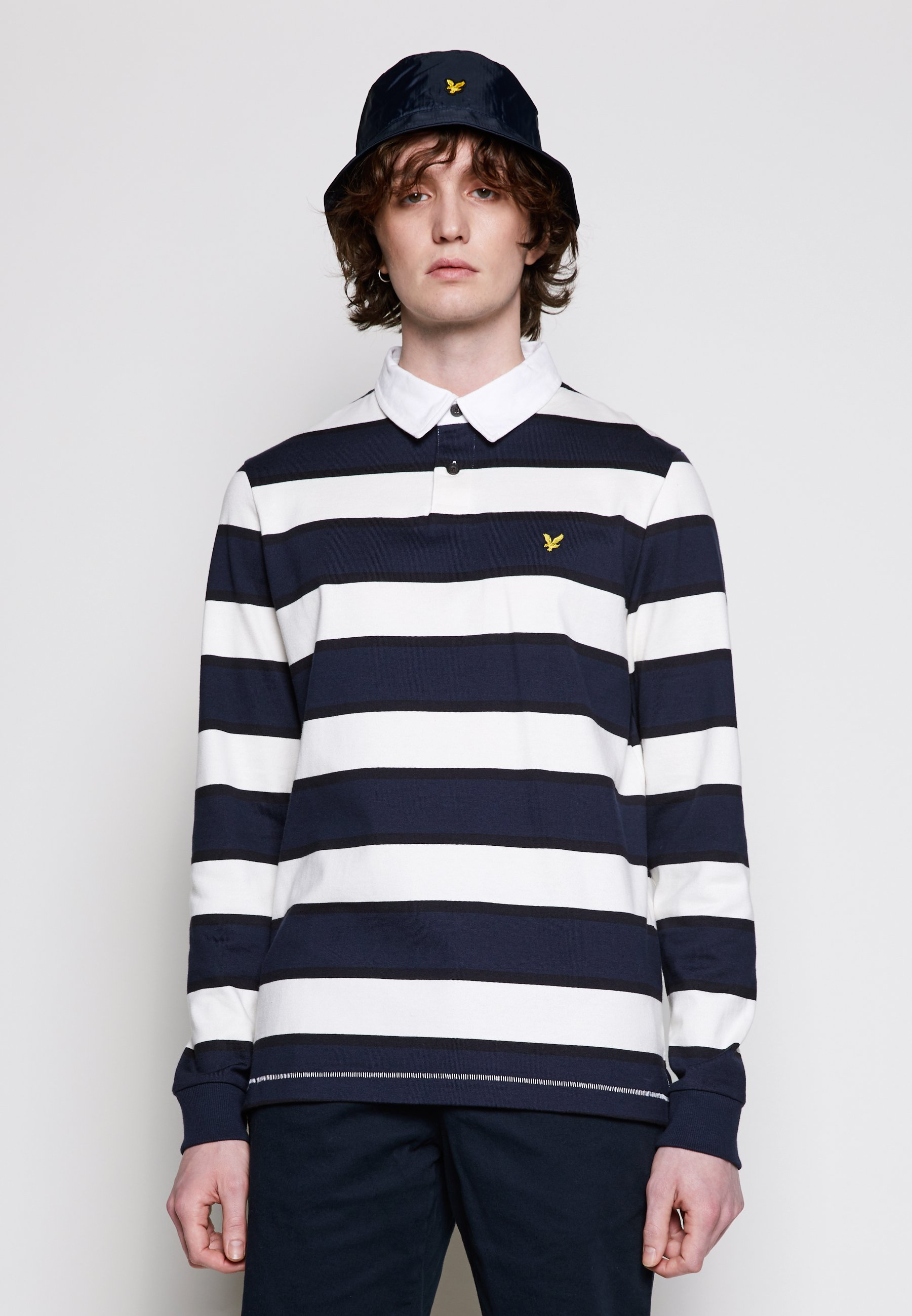 Men STRIPED RUGBY RELAXED FIT - Polo shirt