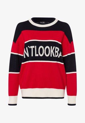 Sweatshirt - red varied