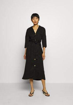 ALBA DRESS - Abito a camicia - washed black