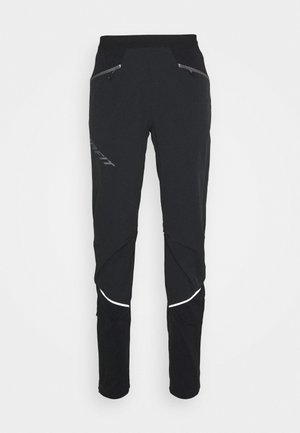 TRANSALPER WARM  - Kalhoty - black out