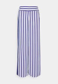 Lauren Ralph Lauren - MARGIT WIDE LEG PANT - Kalhoty - sapphire star/white - 0