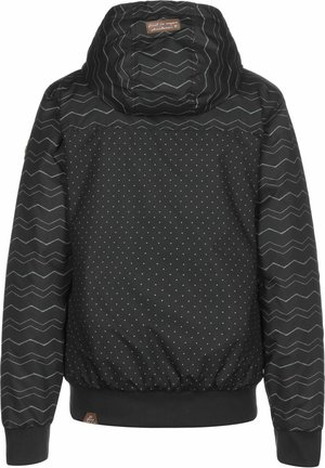 NUGGIE CHEVRON - Light jacket - black