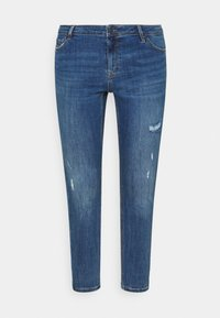 Vero Moda Curve - VMLYDIA  - Jeans Skinny Fit - dark blue denim - 5
