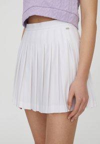 PULL&BEAR - A-line skirt - white - 12