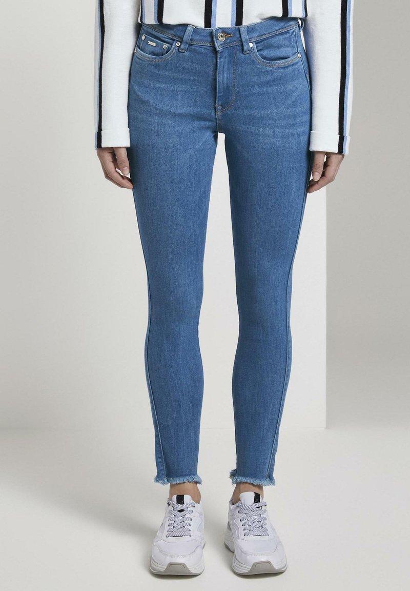 TOM TAILOR DENIM - Jeans Skinny Fit - azure blue denim
