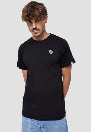 WELLE - T-shirt basic - schwarz