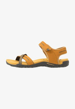 TERRAN CROSS II - Walking sandals - gold