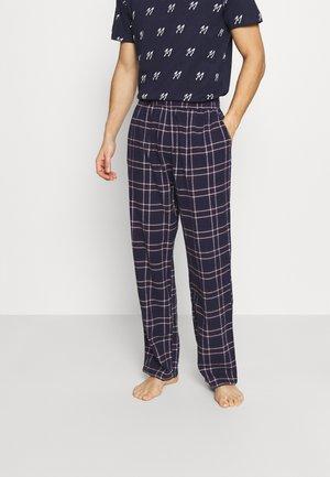 JACRIMON PANTS - Pyžamový spodní díl - navy blazer