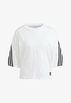 ADIDAS SPORTSWEAR FUTURE ICONS 3-STRIPES T-SHIRT - Print T-shirt - white