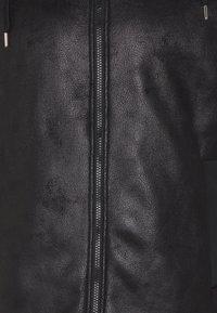 EA7 Emporio Armani - GIUBBOTTO - Leather jacket - black - 7