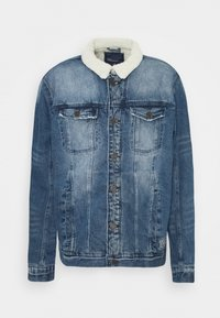 OUTERWEAR - Denim jacket - denim middle blue