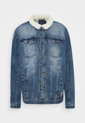 OUTERWEAR - Džínová bunda - denim middle blue