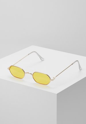 Sonnenbrille - gold/yellow lens