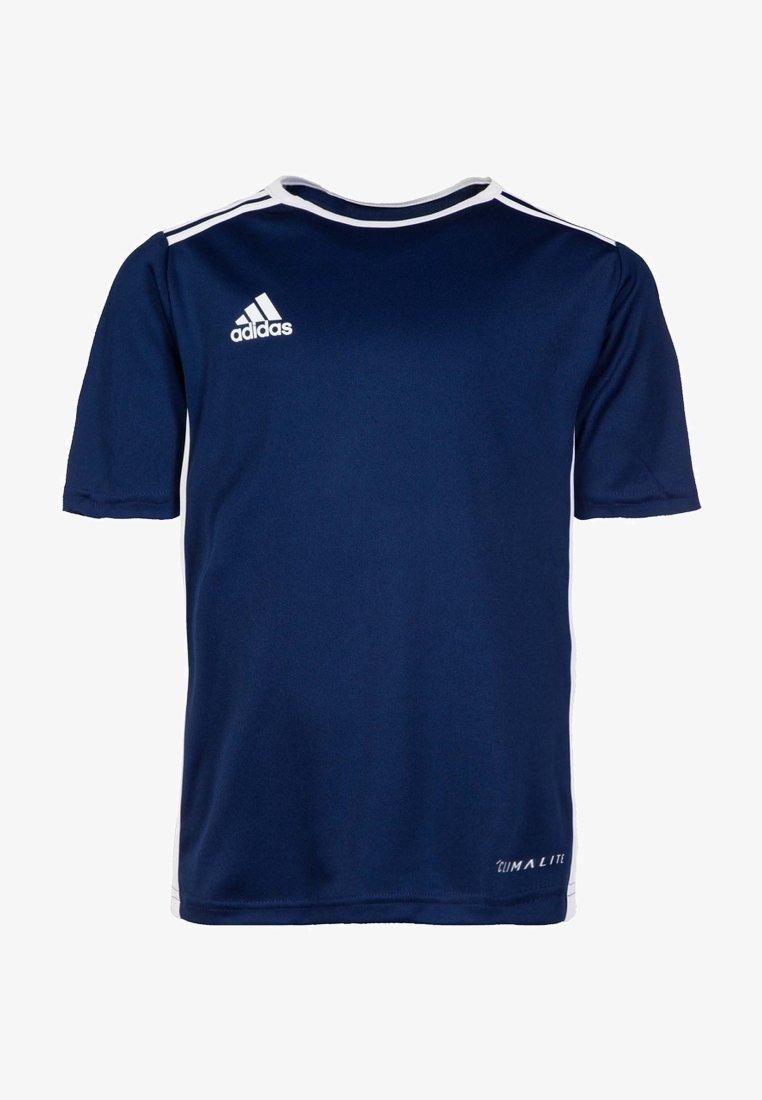 adidas Performance - ENTRADA - Basic T-shirt - dark blue