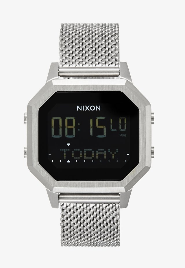 SIREN MILANESE - Reloj digital - all silver-coloured