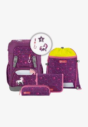 SET - Schooltas - purple