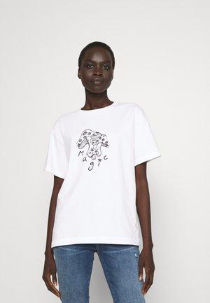MAGIC - Print T-shirt - white