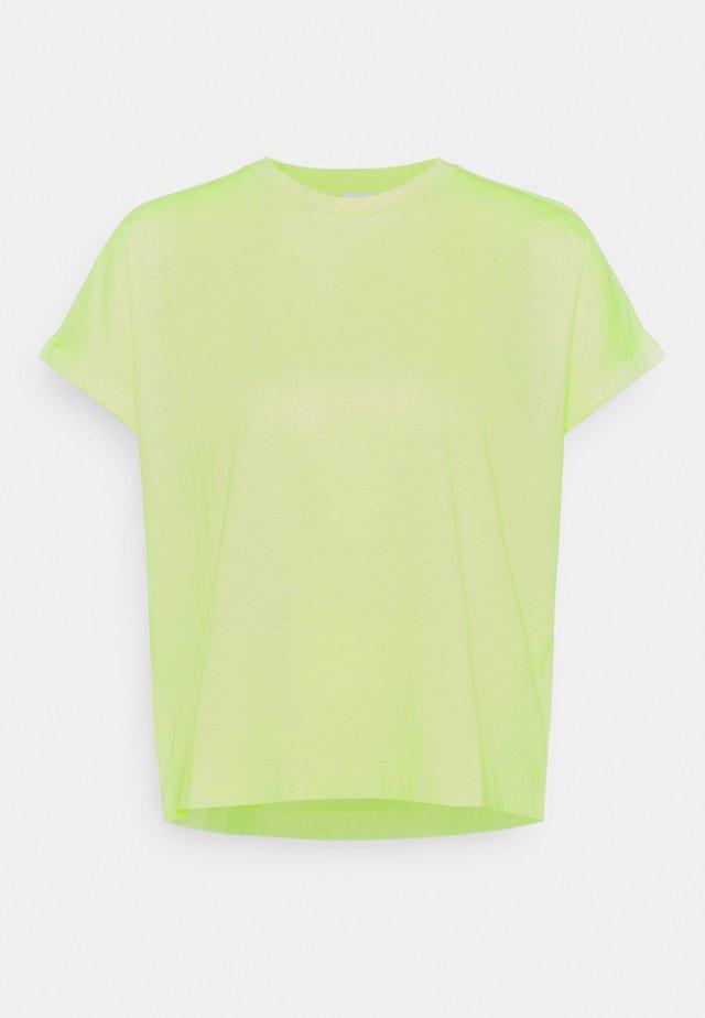 T-shirt basic - limelight