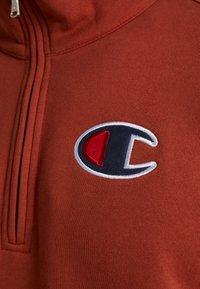 Champion - HALF ZIP - Sweatshirt - dark red - 4