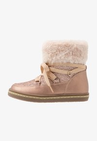 Friboo - Lace-up ankle boots - rose gold - 1