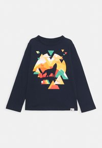GAP - TODDLER BOY GRAPHIC - Long sleeved top - blue galaxy - 0