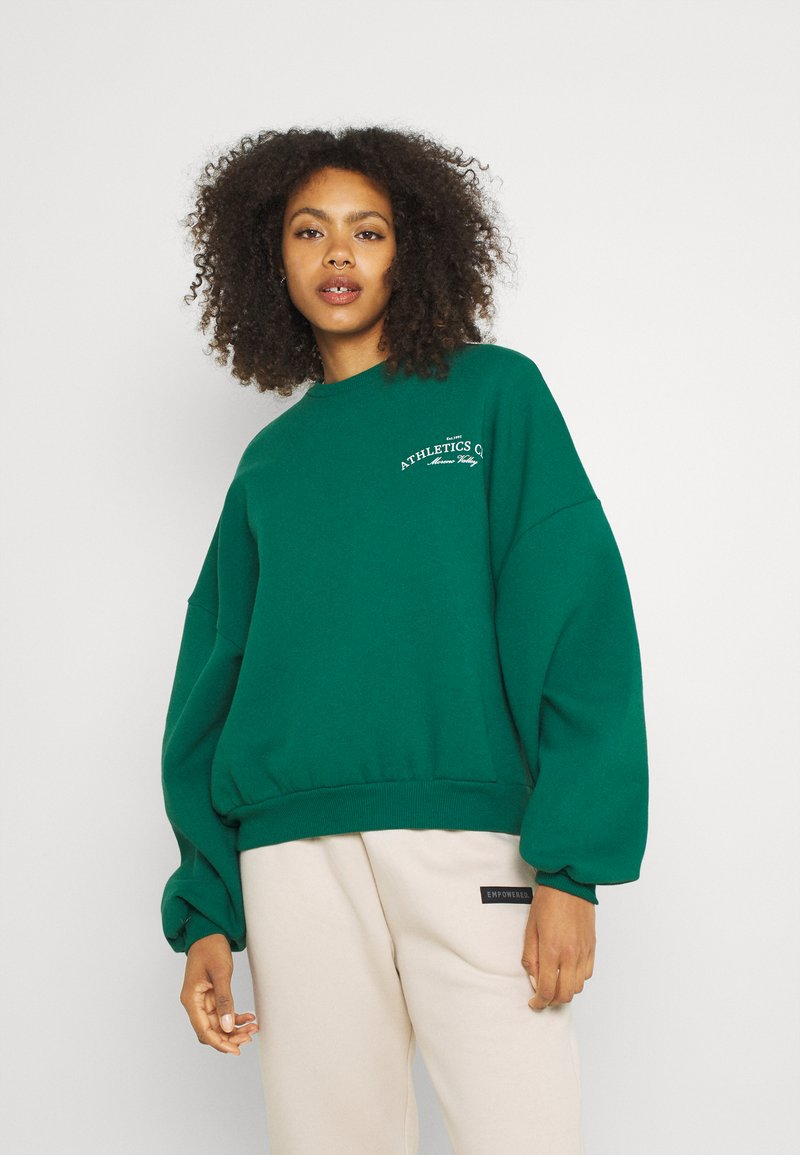 Nly by Nelly - CHUNKY  - Sweatshirt - green