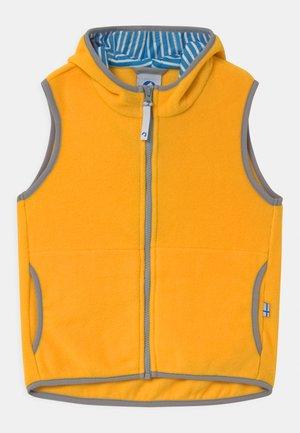 POPPELI UNISEX - Waistcoat - yellow/storm