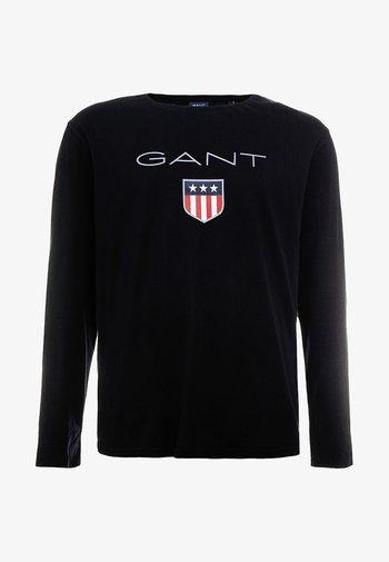 PLUS SHIELD - Långärmad tröja - black