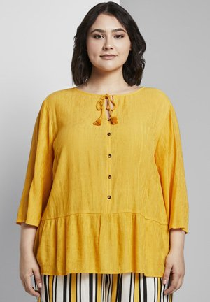 QUASTEN - Tunic - deep golden yellow