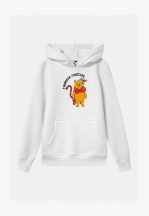 KIDS STRONGER TOGETHER HOODY UNISEX - Collegepaita - white