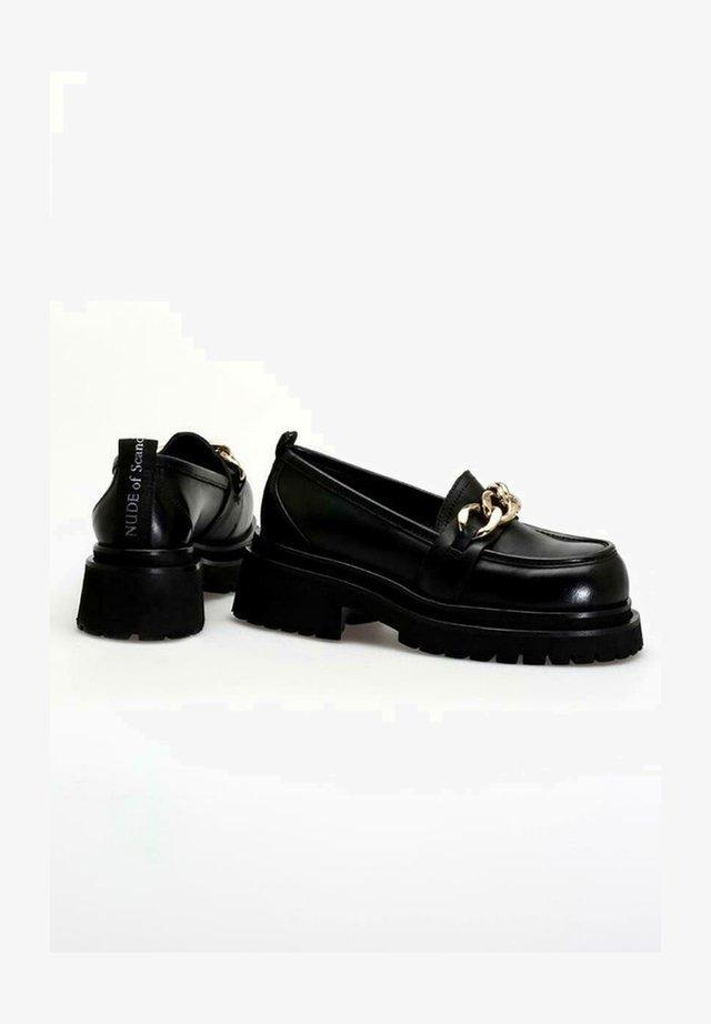 ULRIKA - Slippers - softly/nero
