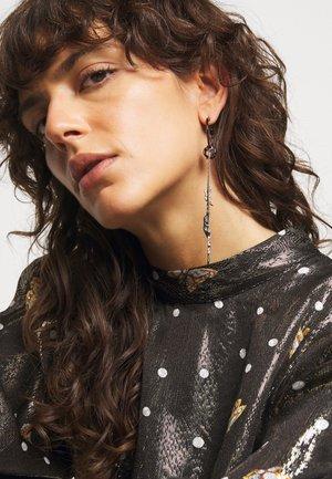 MILA COLOR SING - Earrings - shiny gun