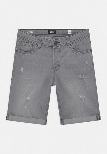 JJIRICK JJORIGINAL AGI - Shorts - grey denim