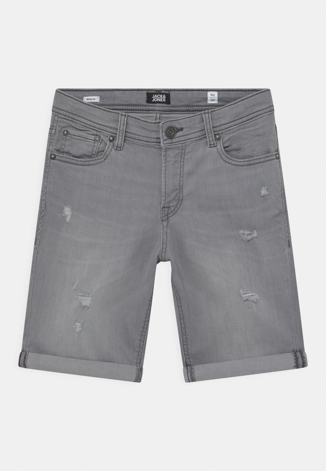 JJIRICK JJORIGINAL AGI - Shorts - grey denim