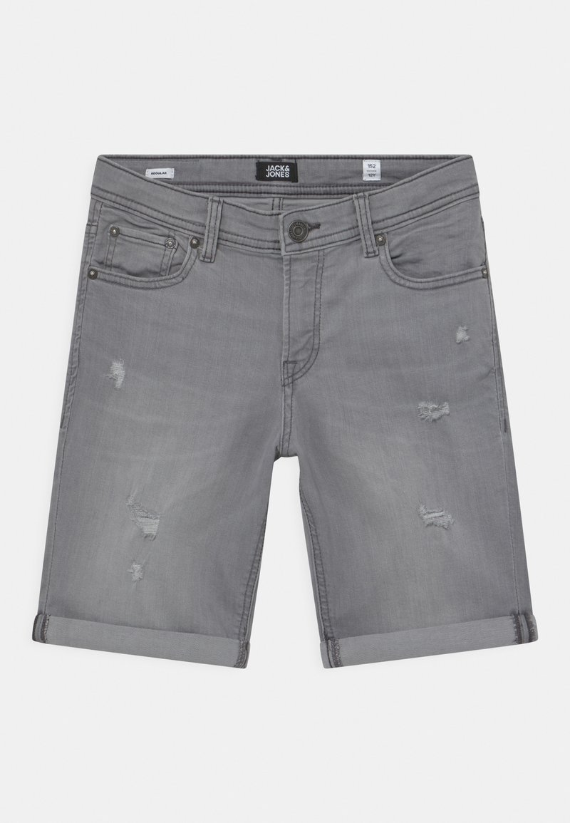 Jack & Jones Junior - JJIRICK JJORIGINAL AGI - Shorts - grey denim